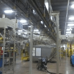 Air Conveyor lines cleaned Plastic Bottle Manufacturing