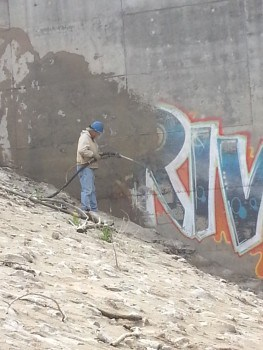 graffiti removal St. Louis MO